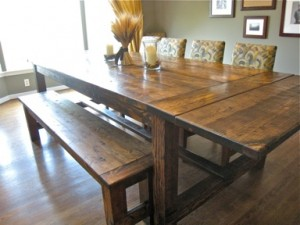 diy farmhouse dining table this southern home